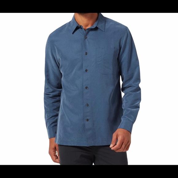 Royal Robbins Collins Blue collar long sleeve, Lg